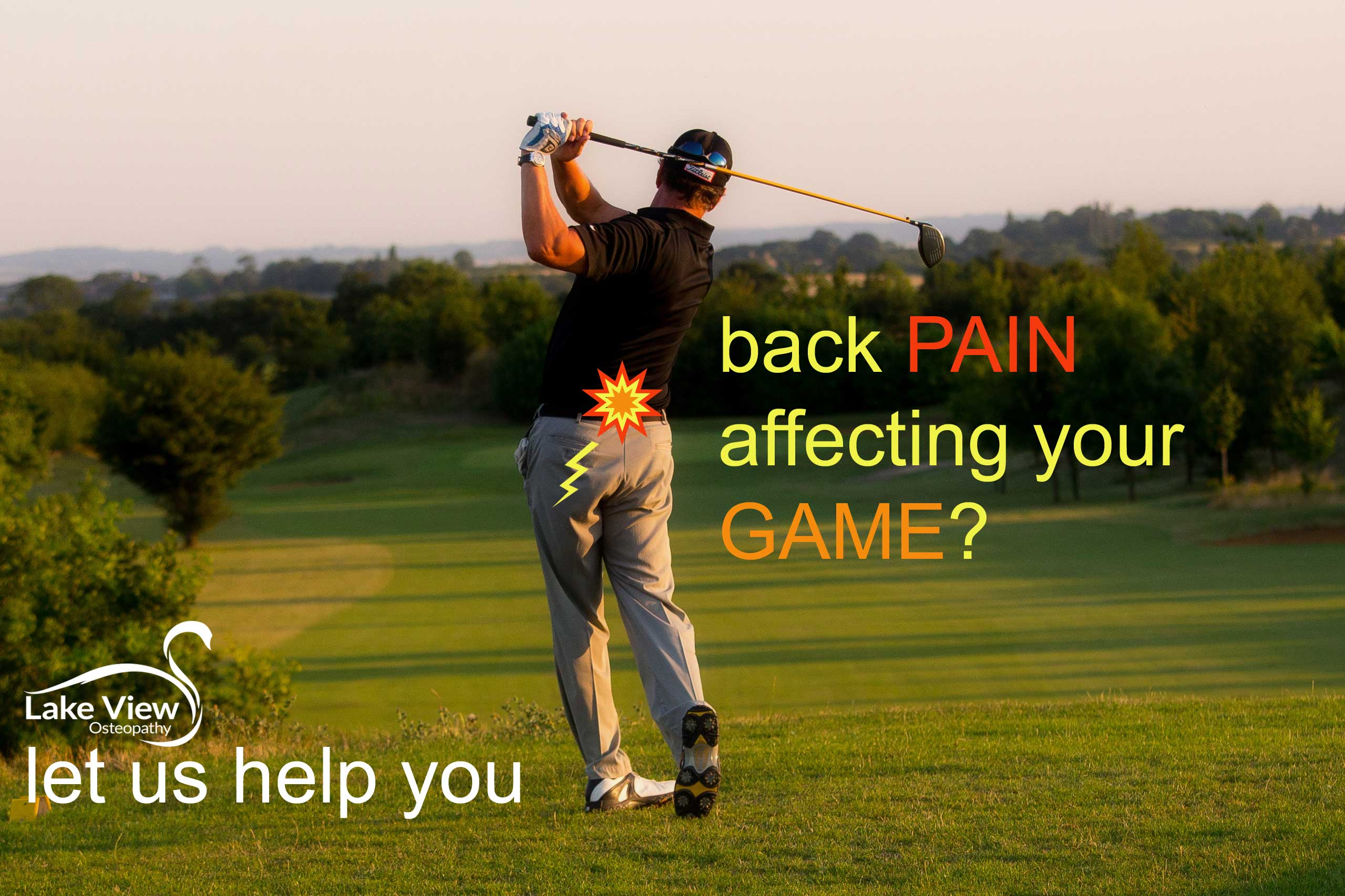 Is Your Body Hurting Your Golf Game: Lake View Osteopathy