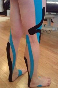 gill kinesio taped