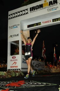 Kona Iron Man Finish - Gill Fullen