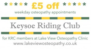 Keysoe Riding Club discount