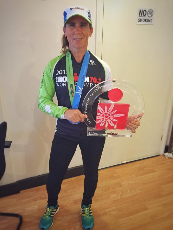 Gill Fullen - Ironman 70.3 WORLD CHAMPION!